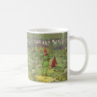 Robin Hood In The Forest Coffee Mug