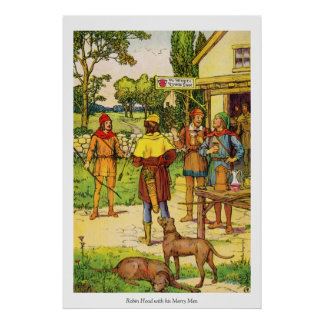 Robin Hood & Merry Men Poster