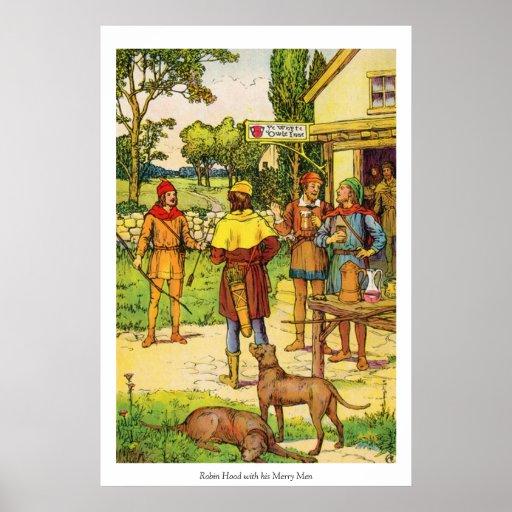 Robin Hood & Merry Men Posters