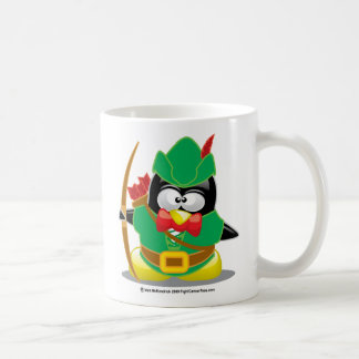 Robin Hood Penguin Coffee Mug