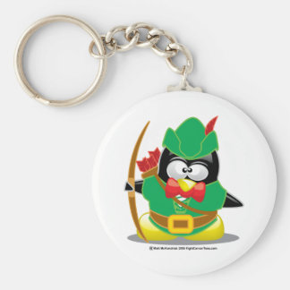 Robin Hood Penguin Key Ring