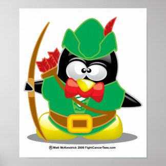 Robin Hood Penguin Poster