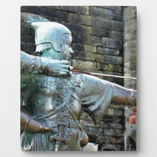 Robin Hood Plaque