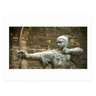 Robin Hood Postcard