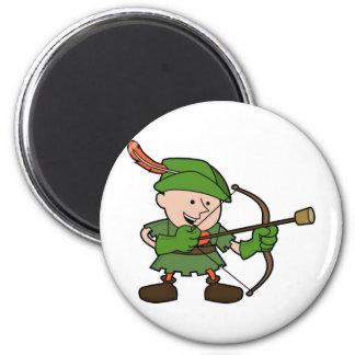 Robin Hood Refrigerator Magnet