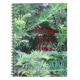 Robin Hood Rules Notebook