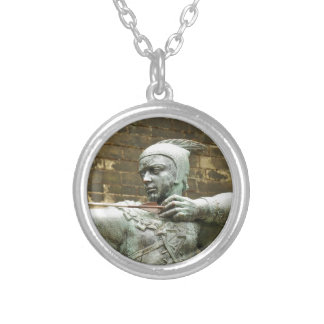 Robin Hood Silver Plated Necklace