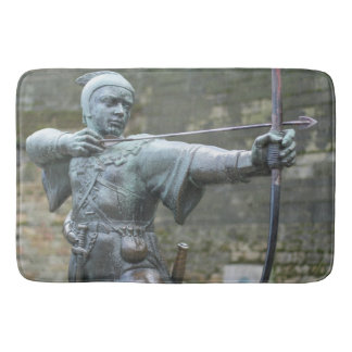 Robin Hood Statue Nottingham Bath Mats