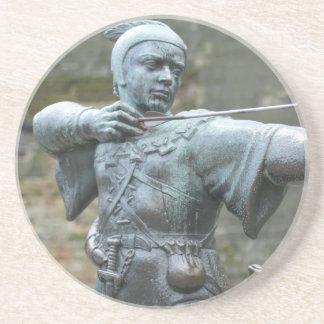 Robin Hood Statue Nottingham Coaster