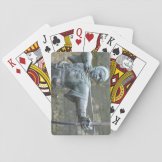 Robin Hood Statue Nottingham Playing Cards