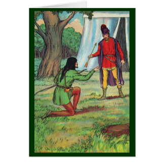Robin Hood - The Golden Arrow Card