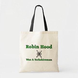Robin Hood Was A Yorkshireman Budget Tote Bag