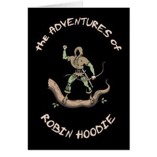 Robin Hoodie Greeting Card