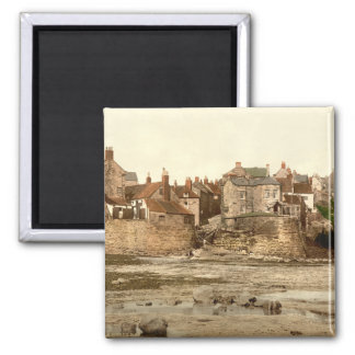 Robin Hood's Bay II, Whitby, Yorkshire, England Square Magnet