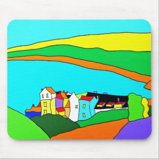 Robin Hoods Bay Yorkshire Mouse Mat