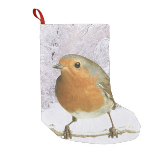 Robin image for Custom Christmas Stocking