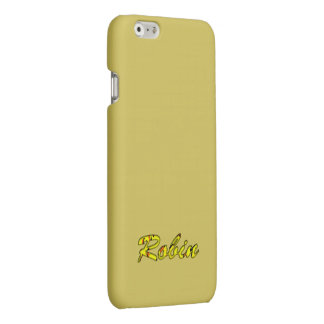 Robin iPhone Yellow case iPhone 6 Plus Case