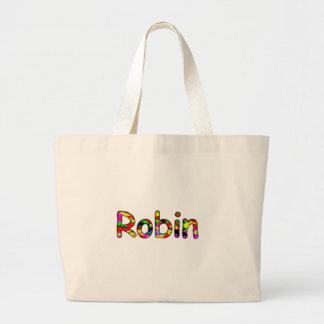 Robin Jumbo Tote Bag