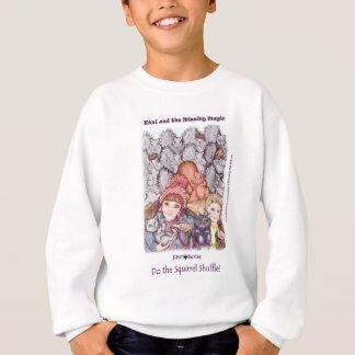 Robin, Kiwi the cat and kids (Kiwi Series) Sweatshirt