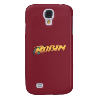 Robin Name Logo Galaxy S4 Case