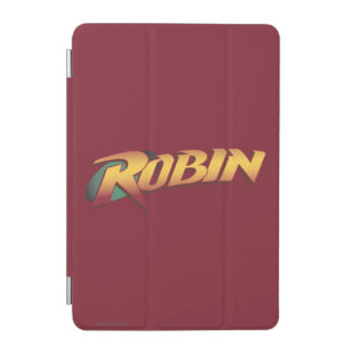 Robin Name Logo iPad Mini Cover