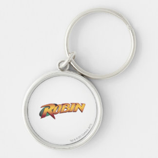 Robin Name Logo Key Ring