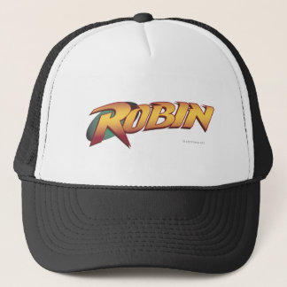 Robin Name Logo Trucker Hat