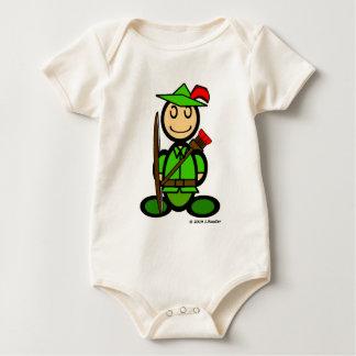 Robin Odd (plain) Baby Bodysuit