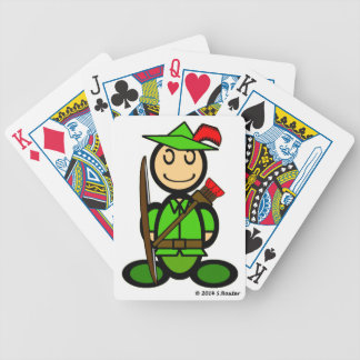 Robin Odd (plain) Bicycle Playing Cards