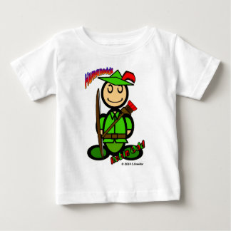 Robin Odd (with logos) Baby T-Shirt
