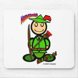 Robin Odd (with logos) Mouse Pad