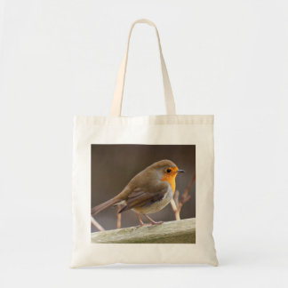 Robin on a Tote bag