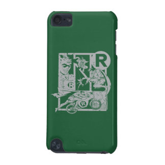 Robin - Picto Grey iPod Touch 5G Cover
