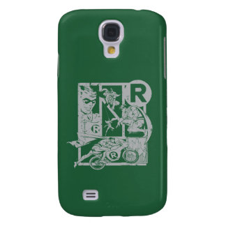 Robin - Picto Grey Galaxy S4 Case