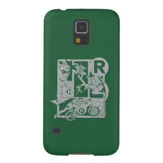 Robin - Picto Grey Galaxy S5 Cover