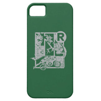 Robin - Picto Grey iPhone 5 Case