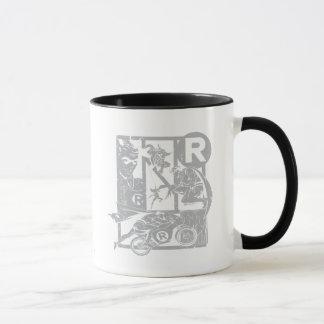 Robin - Picto Grey Mug