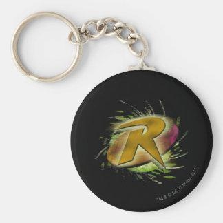 Robin -R Key Ring