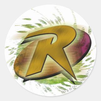 Robin -R Stickers
