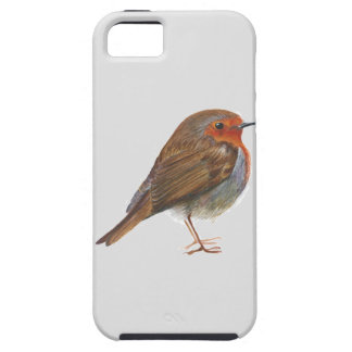 Robin Red Breast Bird Watercolor Painting Artwork iPhone 5 Cover
