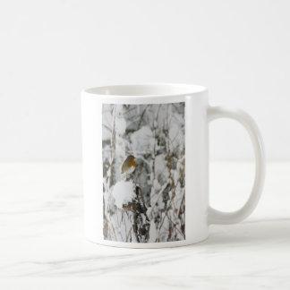 Robin Red Breast Coffee Mugs