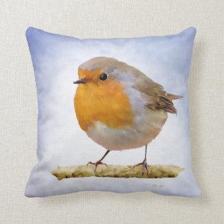 Robin Red Breast Cushion