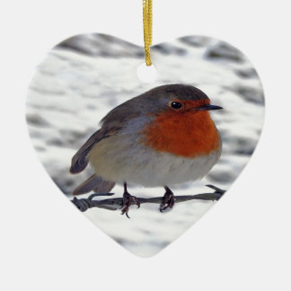 Robin Redbreast Christmas Ornament