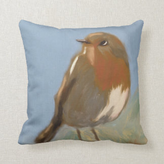 Robin Redbreast Cushion