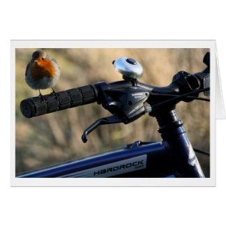 Robin Redbreast Hitchhiker Card