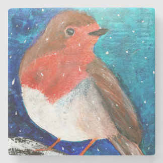 Robin Redbreast In The Snow, Coaster