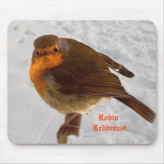 Robin Redbreast Mouse Pad