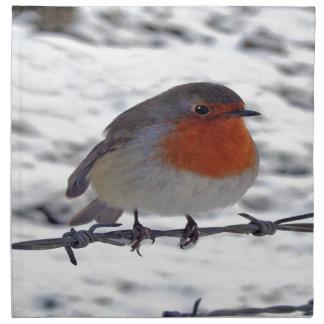 Robin Redbreast Napkin