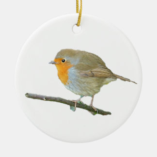 Robin Redbreast Ornament