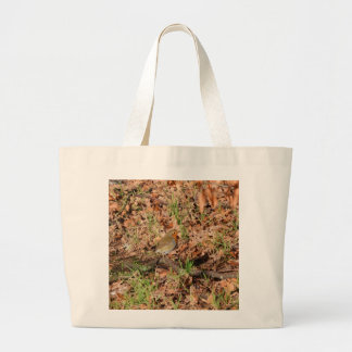 Robin Redbreast Tote Bags